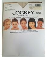 Jockey Sheerest Ever Pantyhose Control Top Sandalfoot Sz Small Buff New - $19.79