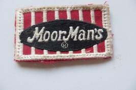 Moor Man's  FEEDS logo AGRICULTURE farming feed & seed co advertising patch - $14.25
