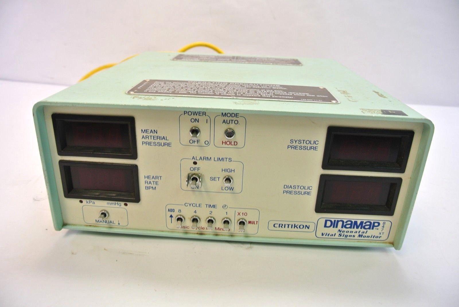 Critikon Dinamap 847XT Patient Monitor