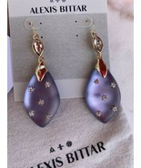 Alexis Bittar Light Purple Lucite Earrings - $307.98 CAD