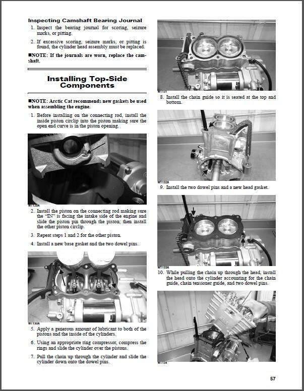 2016 Arctic Cat Wildcat Sport Service Repair Workshop Manual CD image 2