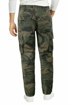 Men's Cotton Work Trousers Multi Pocket Camo Military Army Cargo Pants  40x28 image 2