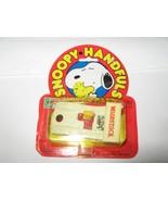 Snoopy Handfuls , Woodstock in  White Racer , Asst. # 72022 , 1965 , Aviva - $19.71