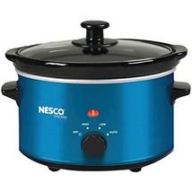 Nesco SC-150B Oval Slow Cooker, 1.5-Quart, Blue - $30.59