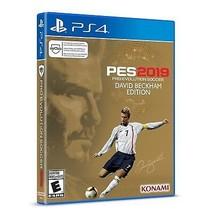 Pro Evolution Soccer 2019 - PlayStation 4 David Beckham Edition NEW! - $50.35
