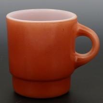 Fire-King C-Handle Stacking Mug Russet