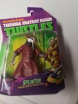 SENSEI SPLINTER TMNT TEENAGE MUTANT NINJA TURTLES FIGURE NICKELODEON MOS... - $39.99
