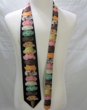 Ice Cream Cone Necktie Neck Tie Ralph Marlin & Co. 151139 Made in USA 1997 image 2