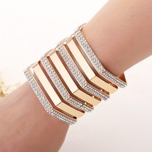 2018 Bracelets Fashion Charm Jewelry Bangle New Arrival Women Girls Gold Bracele - $7.42