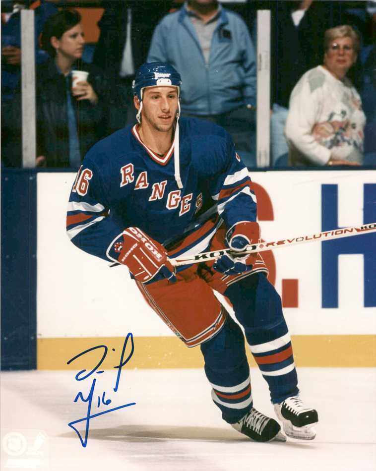 Primary image for Daniel Goneau Signed Autographed Glossy 8x10 Photo - New York Rangers