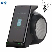 Wireless Charger 2 In 1 Portable Usb Speakers For iPhone X Samsung Galaxy Note 8 - $101.58