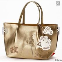 Disney Beauty and the Beast The Gold Tote Backpot and Mrs. Lumiere Handbag - $133.65
