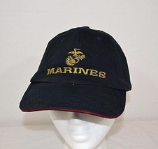 United States Marines Baseball Cap Blue Adjustable  USA Made - $19.99