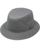 Henschel Water Repellent Bucket Hat Eyelets In Crown Men Women Tan Charc... - $45.00