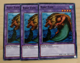 3 X YU-GI-OH RARE FISH COMMON (OP03-EN026) **MINT** - $28.50