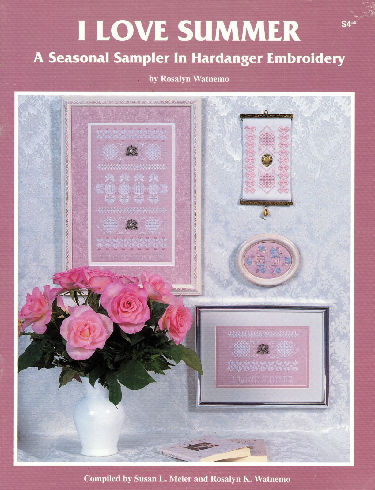 I Love Summer Hardanger Embroidery Seasonal Sampler Rosalyn Watnemo Book image 6