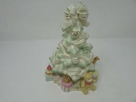 """LENOX HOLIDAY TRADITIONS CHINA CHRISTMAS TREE PEACE JOY LOVE NOEL... 8.25""""H - $24.70"""