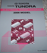 2006 Toyota TUNDRA Electrical WIRING Diagram Service Shop Repair Manual ... - $39.60