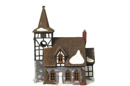 Dept 56 Dickens Heritage Village Collection Old Michael Church Porcelain - $29.69