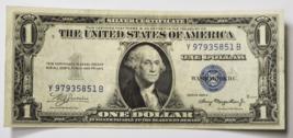 1935 A $1 Silver Certificate Note One Dollar Y97935851B Fr#1608 - $18.80