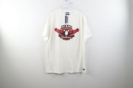 NOS Vintage 90s Jansport Mens XL Miami University Spell Out T-Shirt White USA - $39.55
