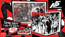 Persona 5 - SteelBook Edition - PlayStation 4 Disc - $173.99