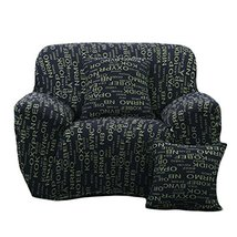 George Jimmy Fashion Single Person Sofa Slipcovers Modern Style Couch Covers-Let - $52.22
