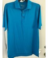 Bobby Jones Mens Pool Blue  X-H20 size L   Golf Polo Shirt NWT  - $21.23