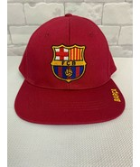 FC Barcelona Soccer Snapback  Ball Cap. - $14.84