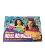 Box Only Vintage Milton Bradley 1996 Electronic Mall Madness Board Game - $9.50