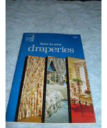 Singer How To Sew Draperies 1974  c-751 - $4.87