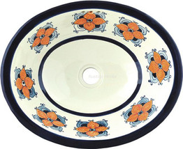 "Mexican Oval Bathroom Sink ""Las Vegas"" - $172.00"