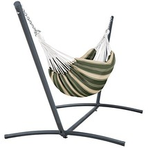 Classic Accessories Montlake FadeSafe Brazilian Hammock with Steel Stand... - $205.88
