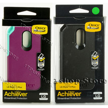 Otterbox Achiever Series LG Stylo 3 Plus Dual-Layers Hard Snap Case Cover  - $28.00