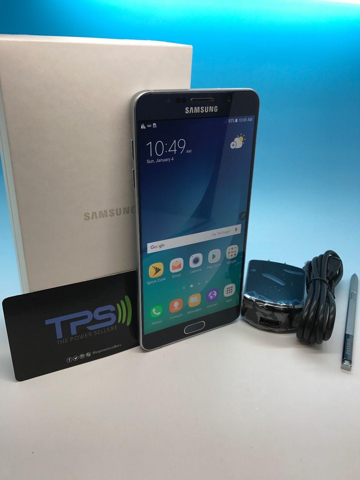 UNLOCKED SAMSUNG NOTE 5 32GB N920P BLACK GSM UNLOCKED GRADE A IN BOX