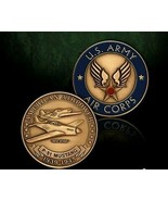 ARMY AIR CORPS P-51 MUSTANG CHALLENGE COIN - $18.04