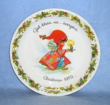 Gigi Collector Plate God bless us...everyone. Christmas 1971 American Gr... - $4.99