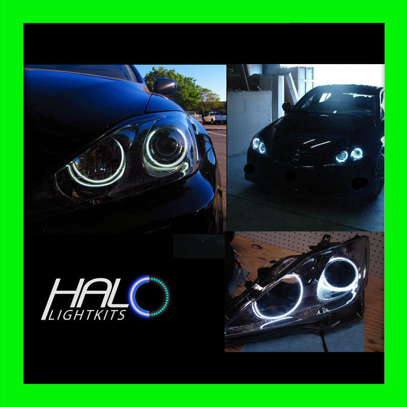 Primary image for ORACLE LIGHTING 2006-2010 Lexus IS WHITE LED CCFL Headlight Halo Rings Set