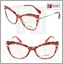 af1c504ff55c MIU MIU MU06PV Eyeglasses Optical Frame Raspberry Pink RX Glasses 51mm 06P  Women - $197.01
