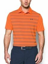 Under Armour Men HeatGear UPF 30 Loose Polo Shirt 1306652 889 Orange MSR... - $44.95+
