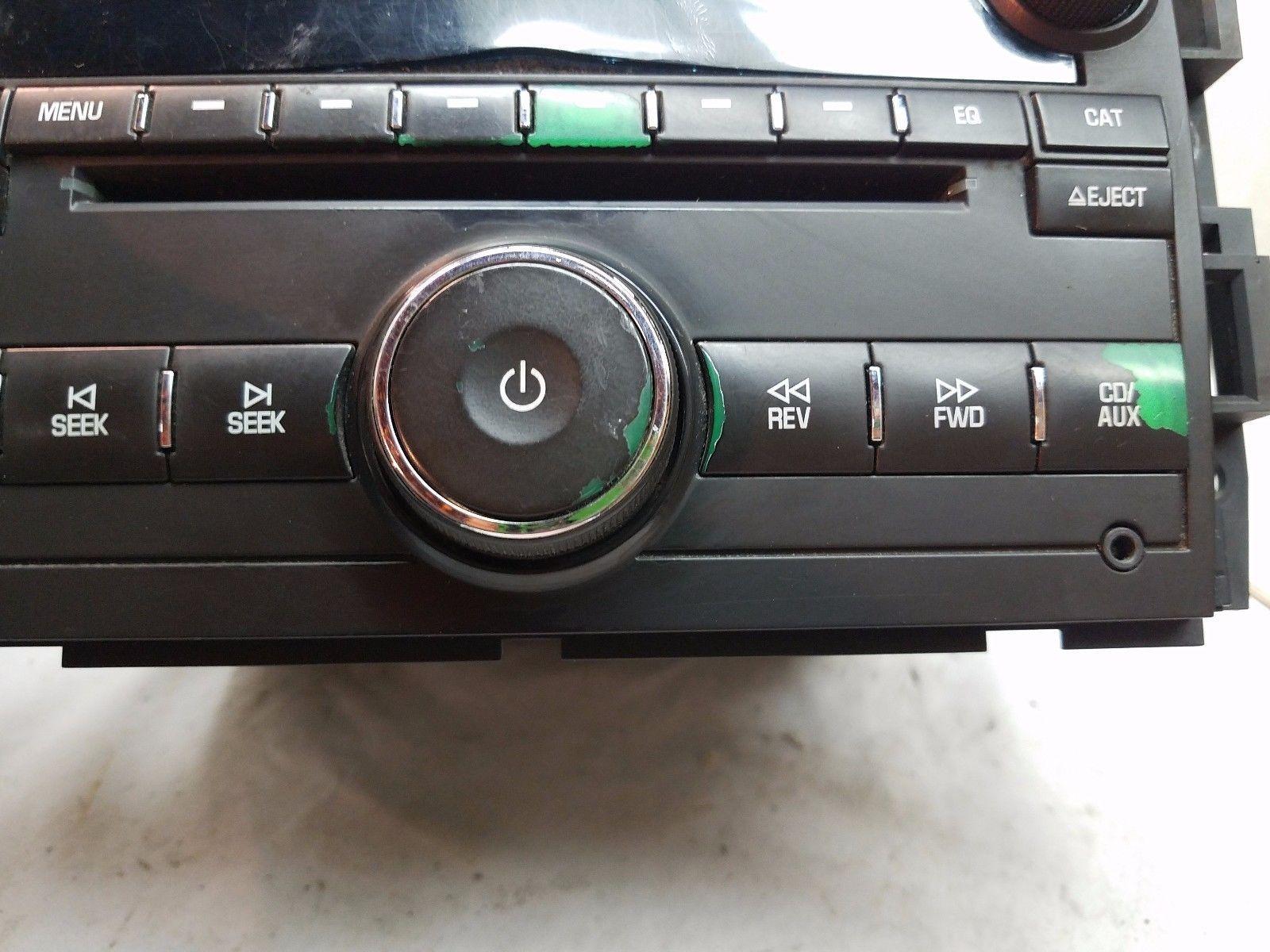07-11 Chevrolet GMC Silverado Sierra Tahoe Yukon Radio CD Player 25782841 RLQ685