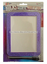 Glam Rocks* Hand Crafted Purple Bling Rhinestone Magnetic Write N Wipe Dry Erase - $6.30