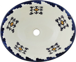 "Mexican Oval Bathroom Sink ""Fresno"" - $172.00"