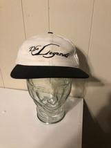 Vintage The Legends Hat White Cap Made In USA Strapback Legend Orange Lake - $7.48