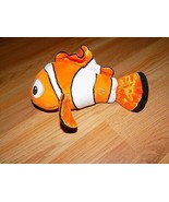 "Disney Pixar Finding Nemo Clown Fish Bean Bag Plush 9.5"" Just Play EUC - $15.00"
