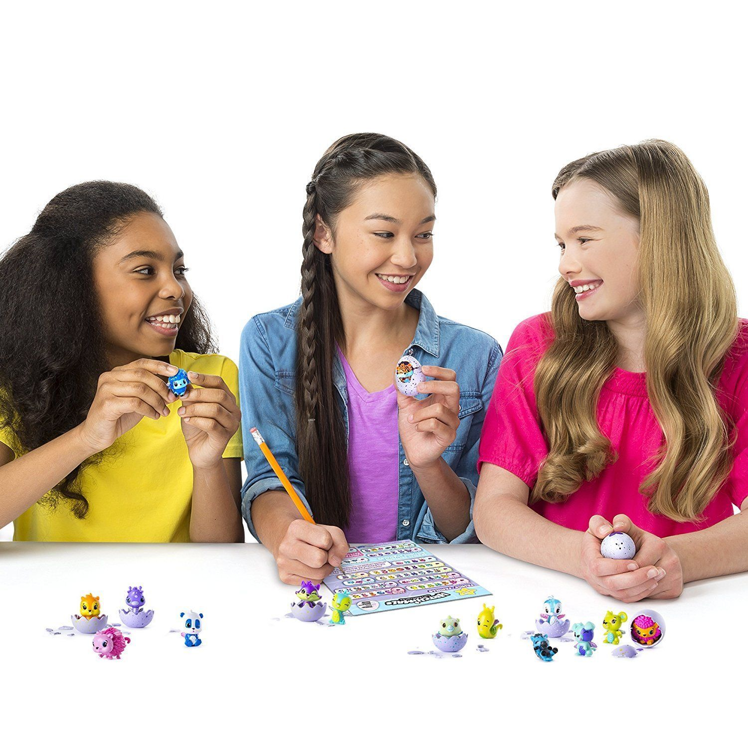 Hatchimals Colleggtibles 4-Pack Bonus Styles Colors May Vary By Spin Master New