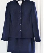 Jones New York Ladies Classic Navy Blue Suit Size 6 - $49.99
