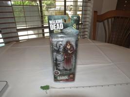 The Walking Dead TV Action Figure Carol Peletier AMC Mcfarlane Toys Raro... - $26.64