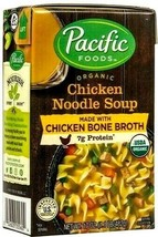Pacific Foods Organic Chicken Noodle Soup Made with Chicken Bone Broth 1... - $29.69