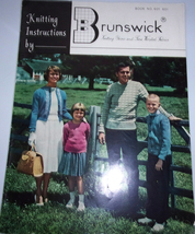 Knitting Instructions by Brunswick Book No. 601  - $3.99